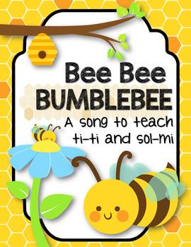 Bee Bee Bumblebee - A Song to Teach ta/ti-ti and sol-mi