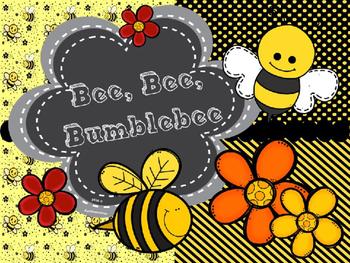 """Bee, Bee, Bumblebee - Practicing """"Ta, Ti-Ti, Sol, La, Mi"""";"""