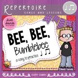 Bee, Bee Rhythm Practice Activities