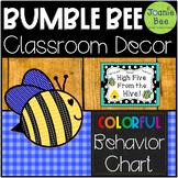 Bee Behavior Chart