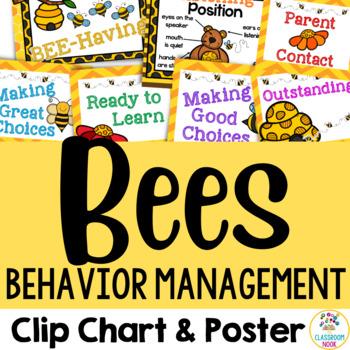 Bee Theme:  Behavior Management Chart & Poster