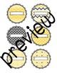 Bee Book Bin Labels
