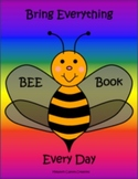 Bee Book for Home and School Communication