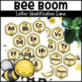 Bee Boom Letter Identification Alphabet Game or Center Activity
