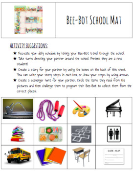 Bee Bot Activity Pack