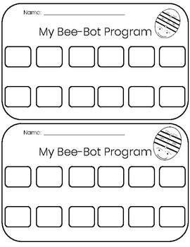 Bee-Bot Activity- Short E CVC Words