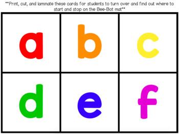 Bee-Bot Alphabet Activity Mat