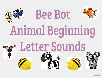 Bee Bot Animal Beggining Letter Sounds