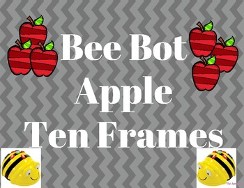 Bee Bot Apple Ten Frame