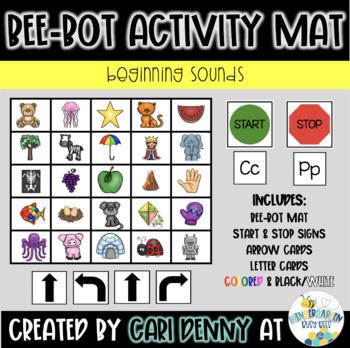 Bee-Bot Beginning Sounds Activity Mat