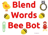 Coding Bee Bot Blend Words