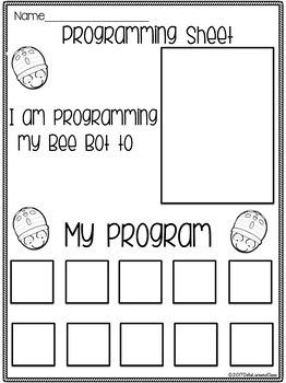 Bee Bot Build The Alphabet