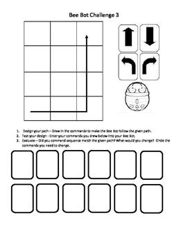 Bee Bot Challenges - Easy