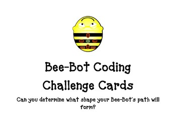 Bee-Bot Coding Challenge Cards