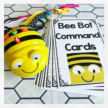 Bee Bot Command Cards