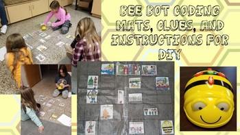 Bee Bot DIY Mats (Summer Camp & A Nice Walk in the Jungle) Maker Space K-5