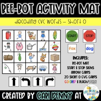 Bee-Bot Decoding (short o) Activity Mat
