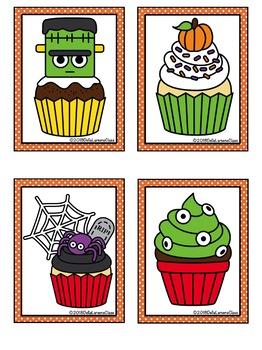 Bee Bot Halloween Cupcakes