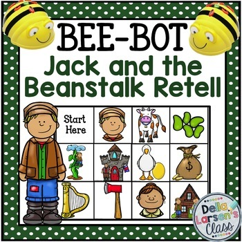 Bee Bot Jack and The Beanstalk Retell