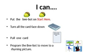 Bee-Bot Literacy and Math board games