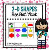Bee Bot Mat 2-D Shapes