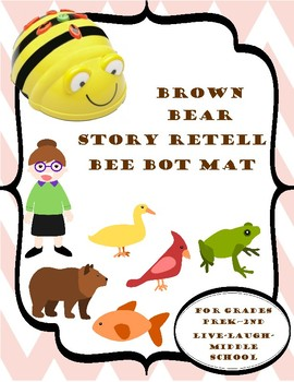 Bee Bot Mat Brown Bear Retelling