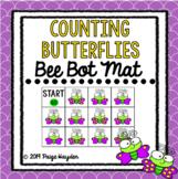 Bee Bot Mat Counting Butterflies