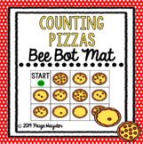 Bee Bot Mat Counting Pizzas