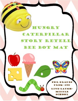 Bee Bot Mat Hungry Caterpillar