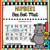 Bee Bot Mat Numbers to 20