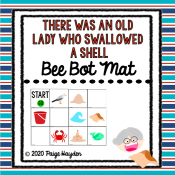 Bee Bot Mat There Was An Old Lady Who Swallowed A Shell