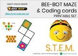 Bee Bot Maze & Coding Cards Printable