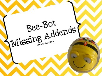 Bee-Bot Missing Addends