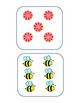 Bee Bot Number Quantity Matching Cards