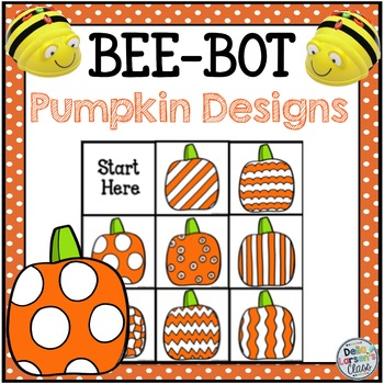Bee Bot Pumpkin Design Fun