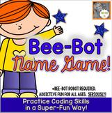 Bee-Bot Robot Activity Mat:  Friends in My Class