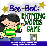 Bee-Bot Robot Activity Mat:  Rhyming Game