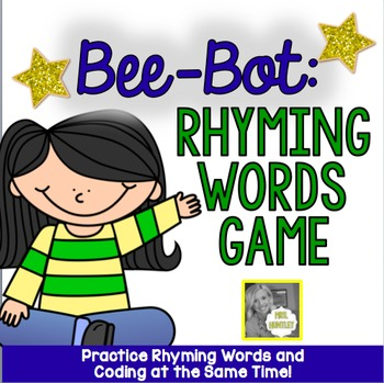 Bee-Bot Robot Activity Mat:  Rhyming Game