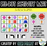 Bee-Bot Shapes (2D & 3D) Activity Mat