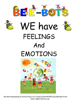 Bee-Bot  Squares Emotions and Feelings