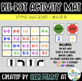Bee-Bot Subtraction (within 10) Activity Mat