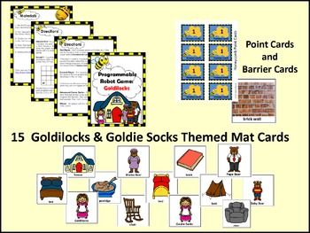 Programmable Robot Game: Goldilocks - Makerspace