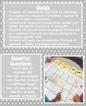 Bee-Bot (TM) Maps Social Studies Lesson - Makerspace