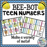 Bee Bot Teen Numbers