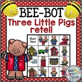 Bee Bot Three Little Pigs Retell