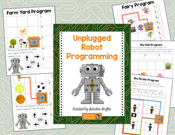 Bee-Bot Unplugged Activity A4