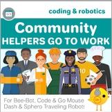 Bee-Bot, Code & Go Mouse, Dash, Spero Robot Coding - Community Helpers