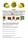 Bee Bot floor robot instructions sheet