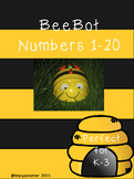 Bee Bot numbers 1-20
