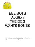 Bee-Bots Mat MATH addition counting Dog Wants a Bone Kinder, Pre-K, Bee Bot